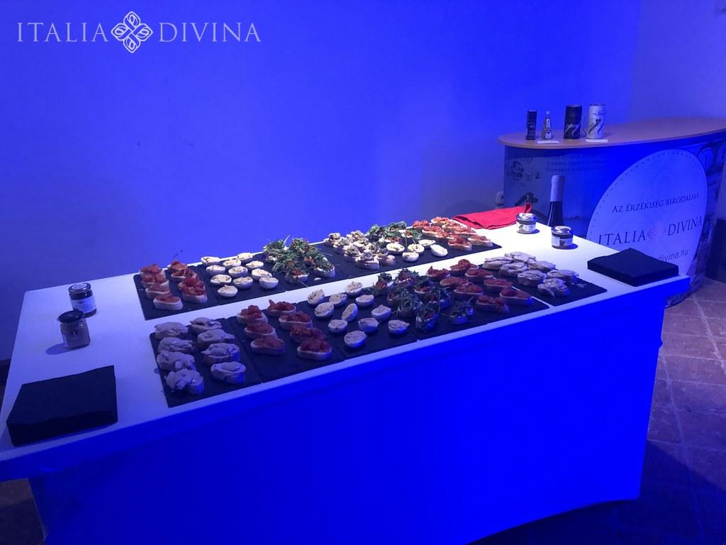 Italia Divina Meska Németh Emese kiállítás ételek